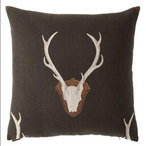 """Horchow D.V. Kap Home Uncle Buck Pillow, 24""""Sq."""